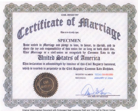 Is Common Law Marriage Acceptable Before God?