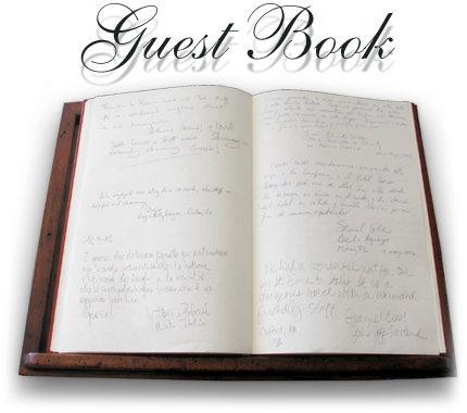 gues book
