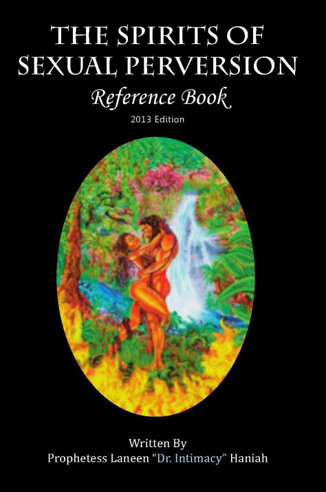 The Spirits of Sexual Perversion Reference Book 2013 front cover