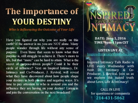 The Important of Your Destiny