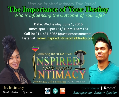 The Importance of Your Destiny 6-01-16